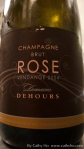 2004 Domaine Dehours Champagne Rose Brut